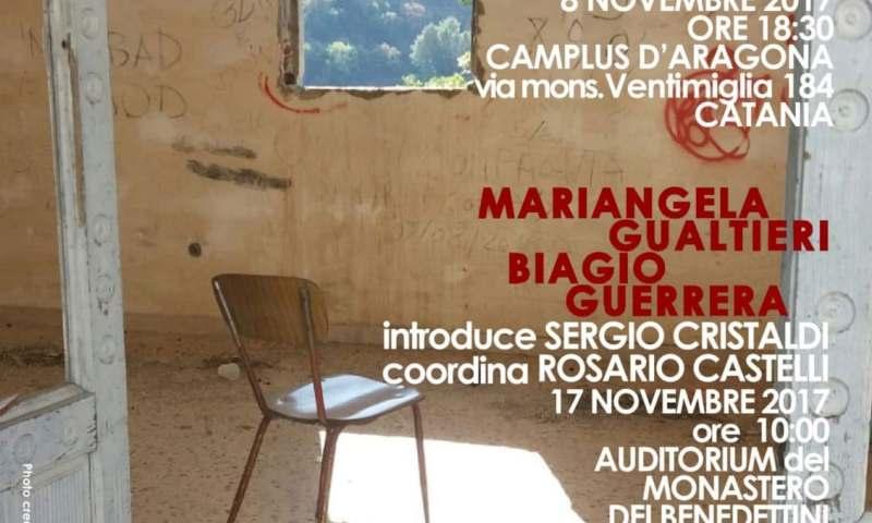"""Catania accoglie la """"Poesia d'emergenza"""""""