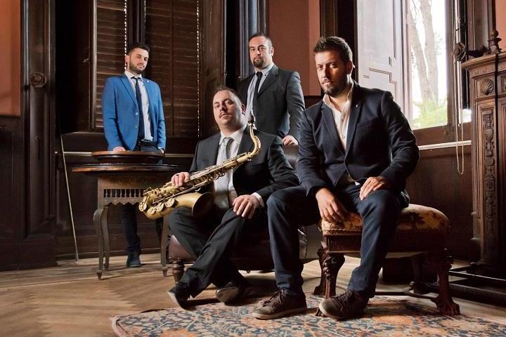 """Claudio Giambruno Quartet tour nazionale e nuovo album, """"Juiu""""."""