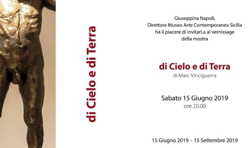 "Catania: al MacS protagonista lo scultore Marc Vinciguerra con ""di Cielo e di Terra"""