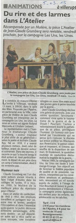 L'atelier Villerupt RL 5-03-2015 2
