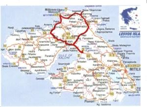 Discover central Lesvos