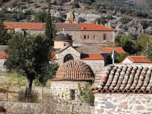 Limonos Monastery (Agios Ignatios) near Kalloni Lesvos