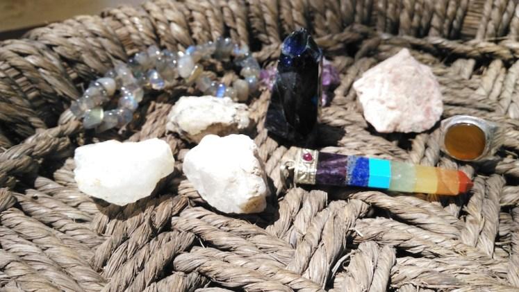 mes cristaux