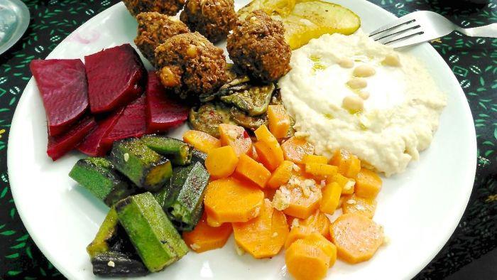 repas vegan les voyages d'erika