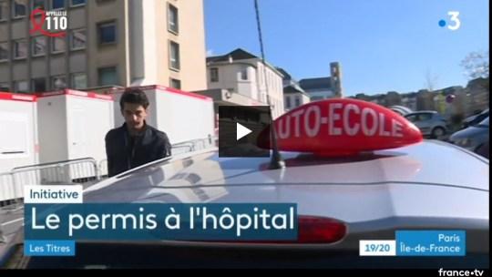 «Le Permis de Conduire à l'Hôpital» sur France 3