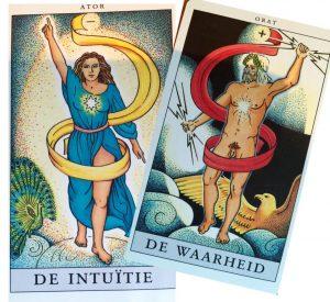 Tarot herstelde orde 2 toegevoegde kaarten tarot