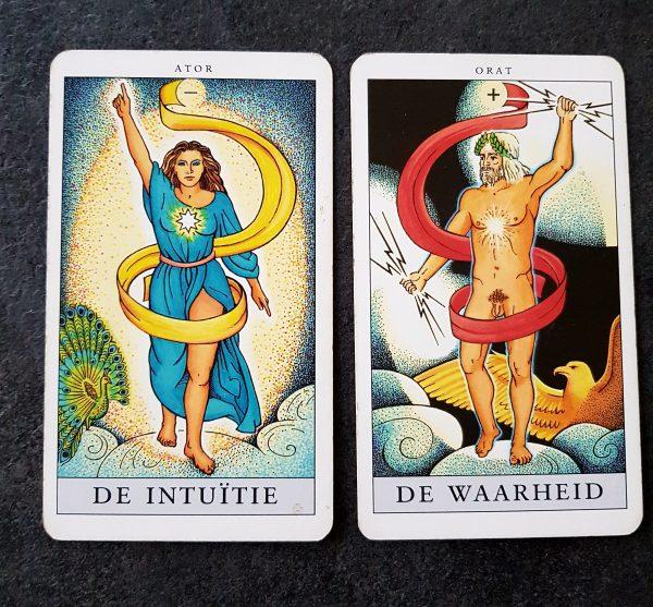 De Intuïtie en De Waarheid Tarotkaarten