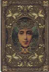vintage tarotkaart vrouw voor blog tarotist