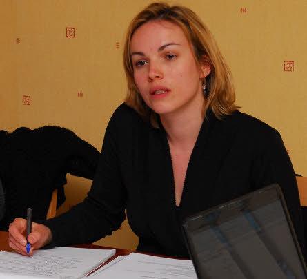 Emmanuelle Le Guennec, présidente de Hoari, l'office municipal de la culture et des loisirs.