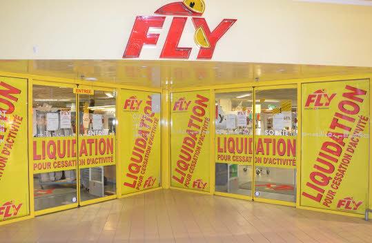 magasin fly fermera ses portes