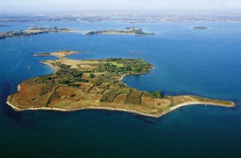 D'une superficie de 42 hectares dans le Golfe du Morbihan, l'île d'Ilur devrait...
