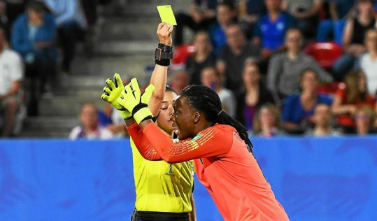 Once again, the use of VAR was controversial Monday night.
