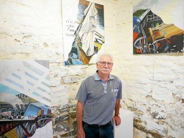 Alain Pignan, artiste authentique et chaleureux.