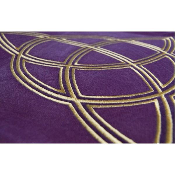 tapis de carte tarot triquetra