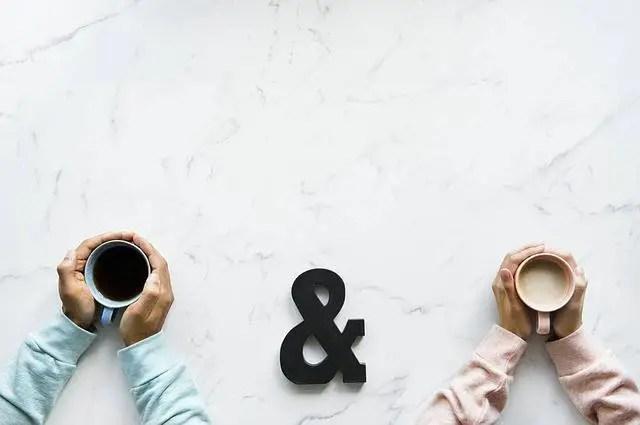 2 tasses thé café