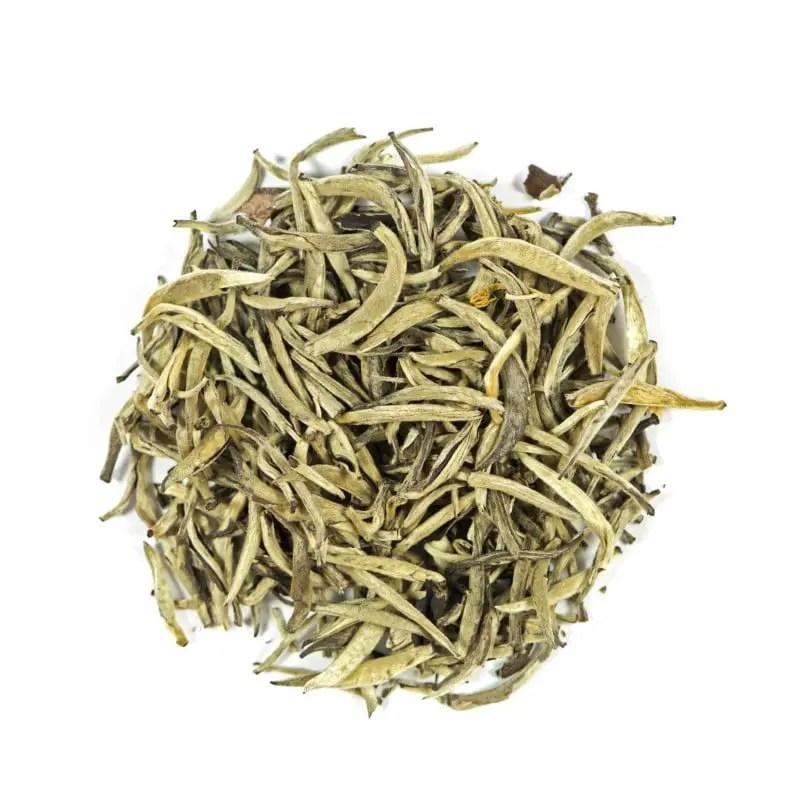 Thé au Jasmin Aiguilles d'Argent de Chine | Thé Blanc Bio | Le Temps du Thé