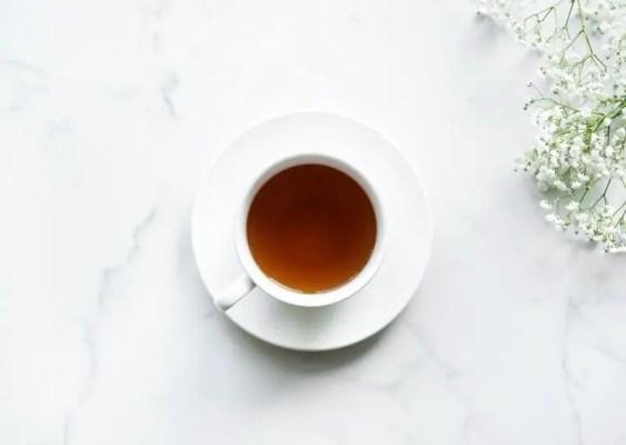 tasse de thé assam
