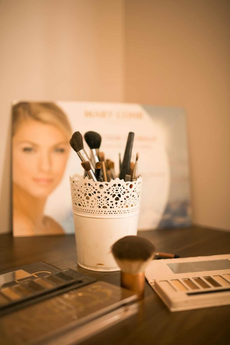 matériel maquillage