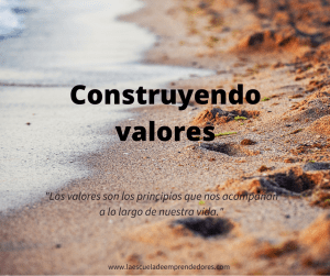 Contruyendo valores-coaching