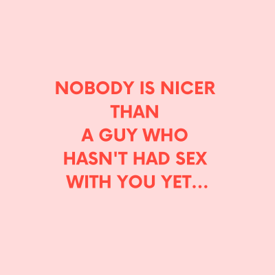 nobody is nicer than a guy