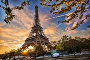 Francie, Paříž, Eiffelova věž