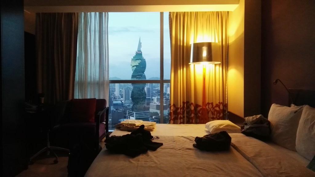 Náš pokoj v Hard Rock Hotel Panama