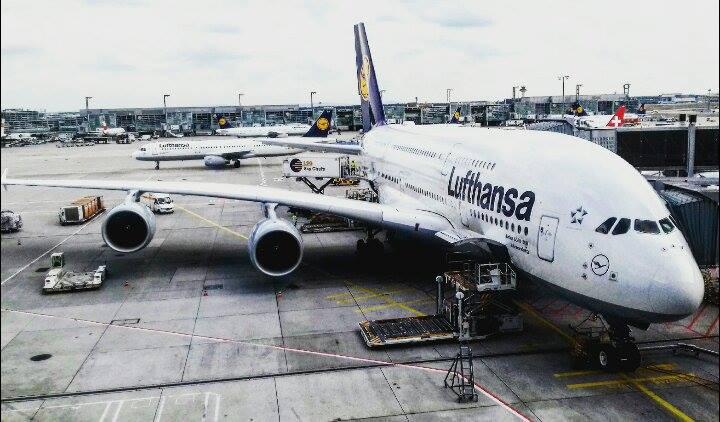 Letadlo Lufthansa