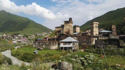 Hike na Velkém Kavkazu – Gruzie 2016: Den 3
