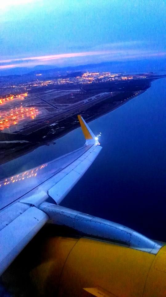 Flight to Mallorca
