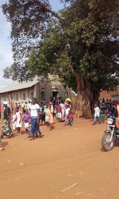 Prales s opičkama a mše v místním kostele – Češka v Ugandě: 8. díl