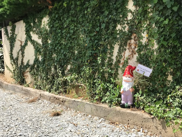RFH-nains de jardin : nain de la Poste