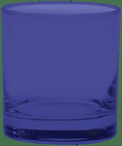 11 oz. Executive Old Fashion - Custom Glow® Full Body Spray - Reflex Blue