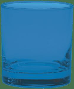 11 oz. Executive Old Fashion - Custom Glow® Full Body Spray - Process Blue