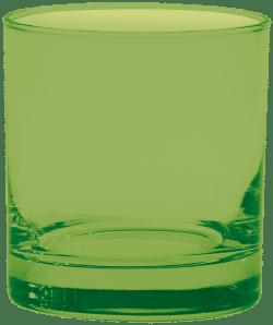 11 oz. Executive Old Fashion - Custom Glow® Full Body Spray - Lime Green
