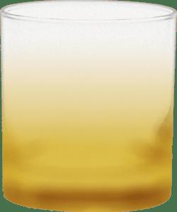 11 oz. Executive Old Fashion - Custom Frosty Glow® Spray - Yellow