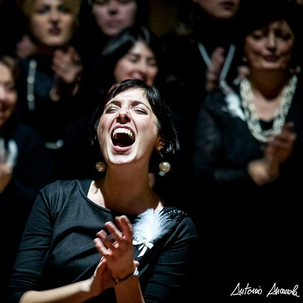 Letizia Dei, direttrice del coro Light Gospel Choir