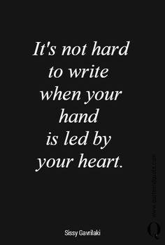 Scrivere a tarda notte