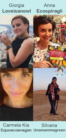 4 green influencer italiane e i loro blog ecosostenibili