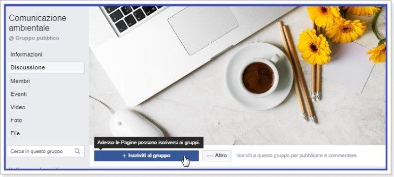 le-pagine-facebook-possono-iscriversi-ai-gruppi-che-lo-consentono