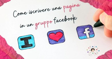 come iscrivere una pagina in un gruppo facebook per poter postare e commentare
