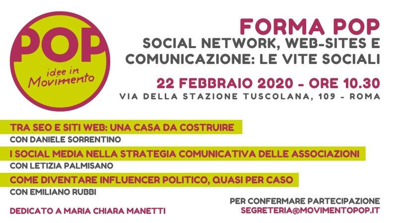 social network web e comunicazione per associazioni
