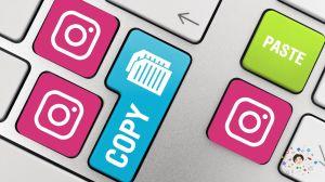 come copiare e incollare testi didascalie post instagram