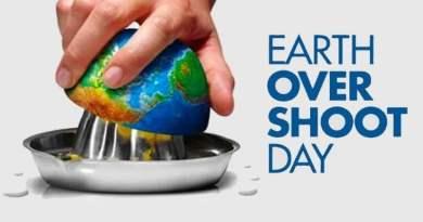 l'earth overshoot day arretra per la prima volta
