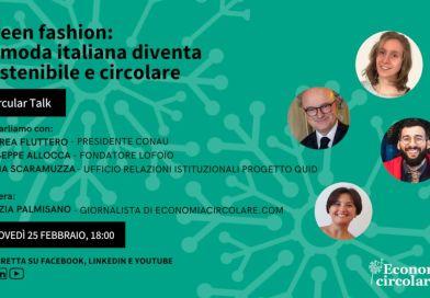 eco tessile e moda sostenibile evento gratuito online