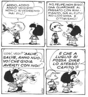 Mafalda, anno nuovo