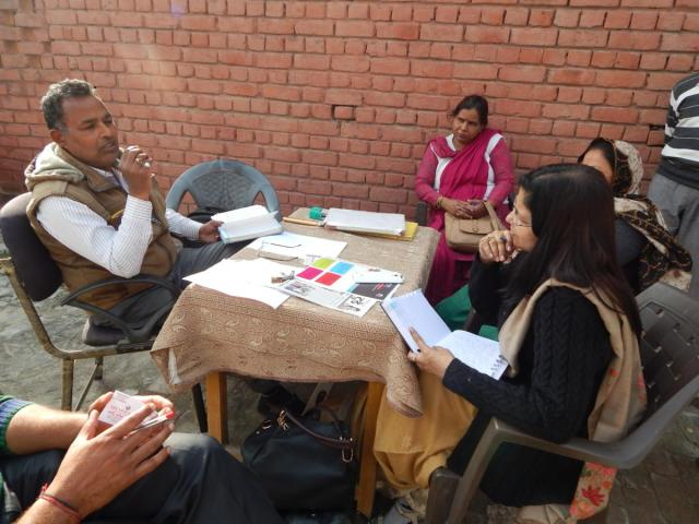 Counselling sessions at Karnal, Haryana