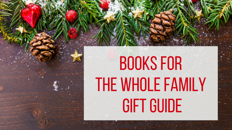 Books for the Whole Family Gift Guide - Let Me Give You Some Advice