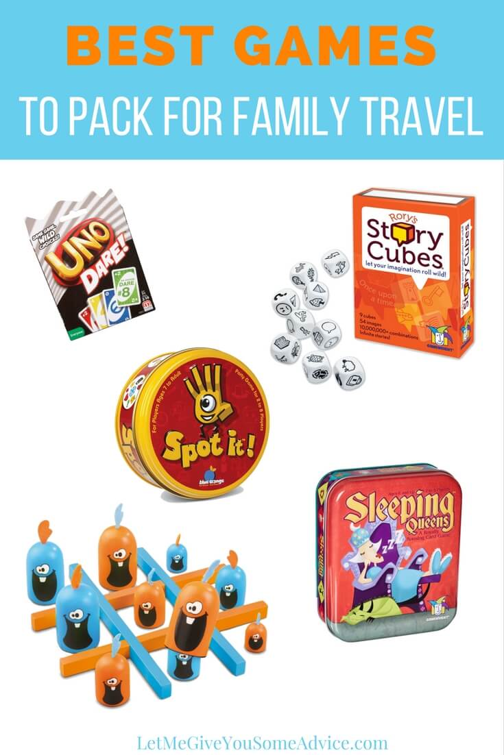 The best family travel games to keep your whole family entertained. Save money on games you can enjoy at home and on the road.