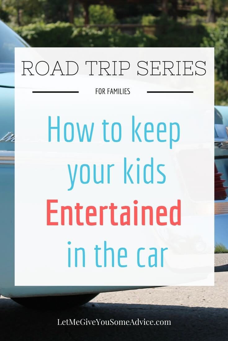 Road Trips for Families Series - How to entertain kids in the car. Check out the key to keeping boredom at bay as you travel on the road with kids. Plus lots of ideas for activities and my favorite toys.