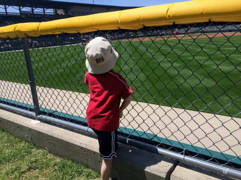 Victory Field Indianapolis Indians Downtown Tour for Families
